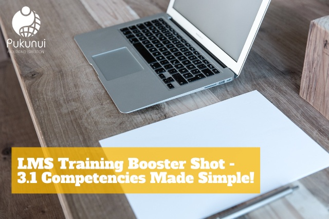 Training Booster Shot - 3.1 Competencies Made Simple