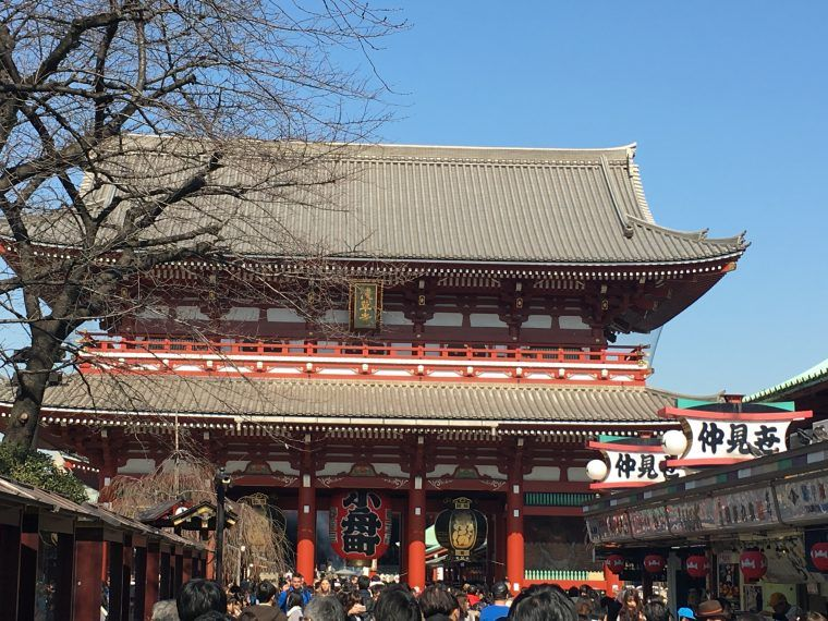 Sensoji Temple in Asakusa, Japan