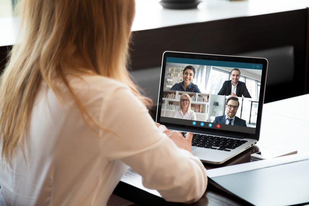 online learning business meeting